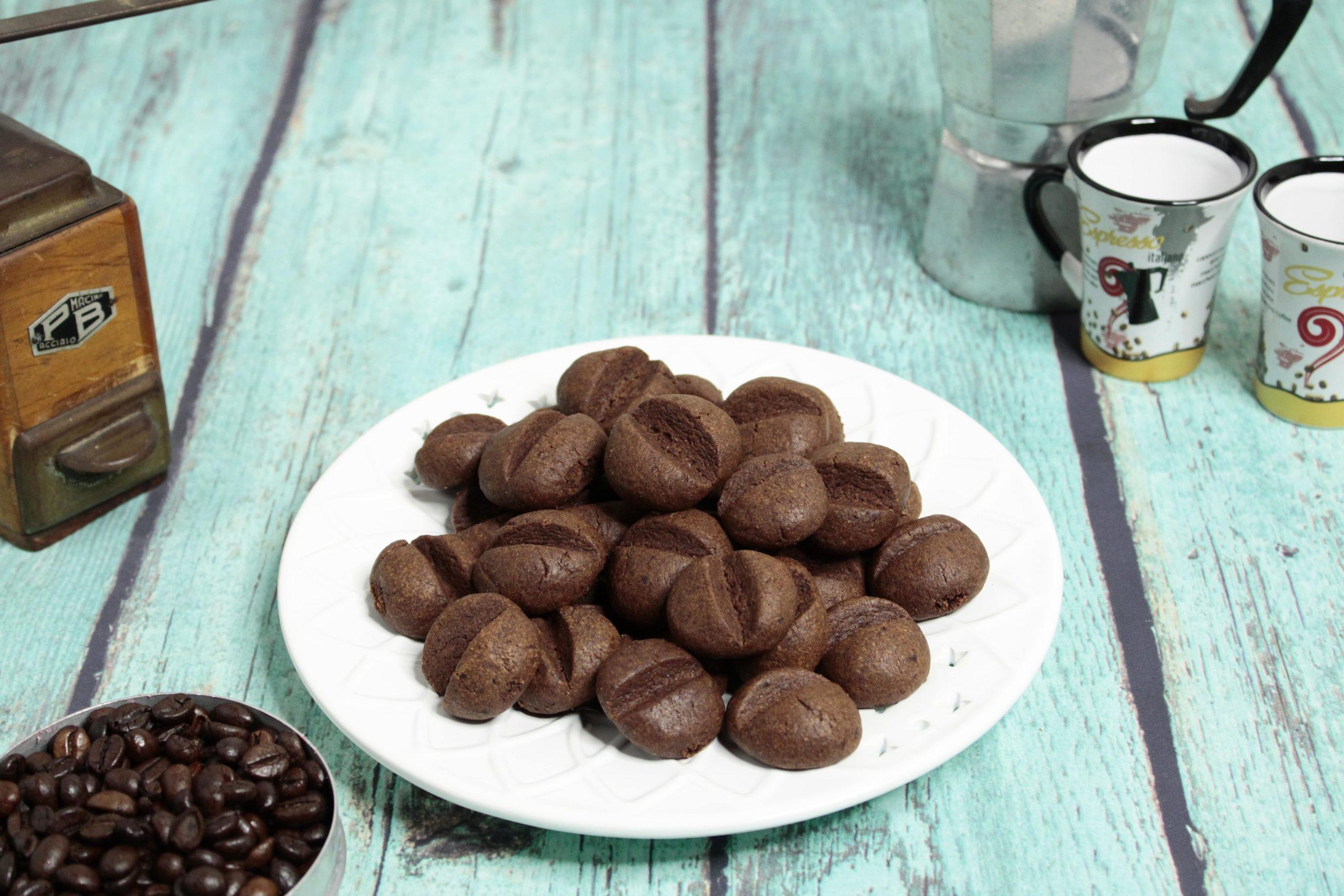 biscotti cacao e caffè