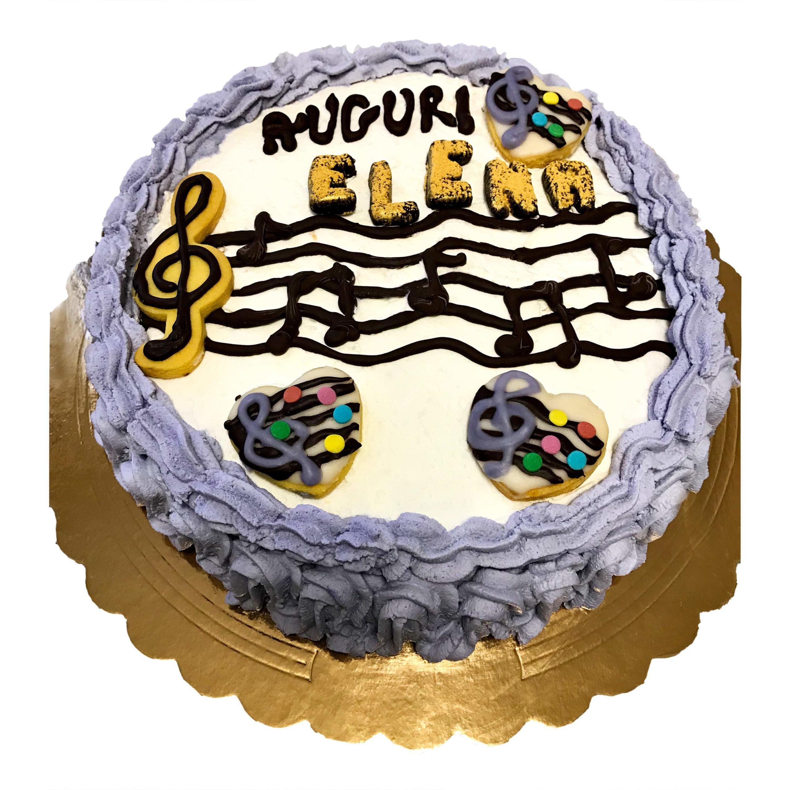 """Torta di compleanno """"musica"""""""