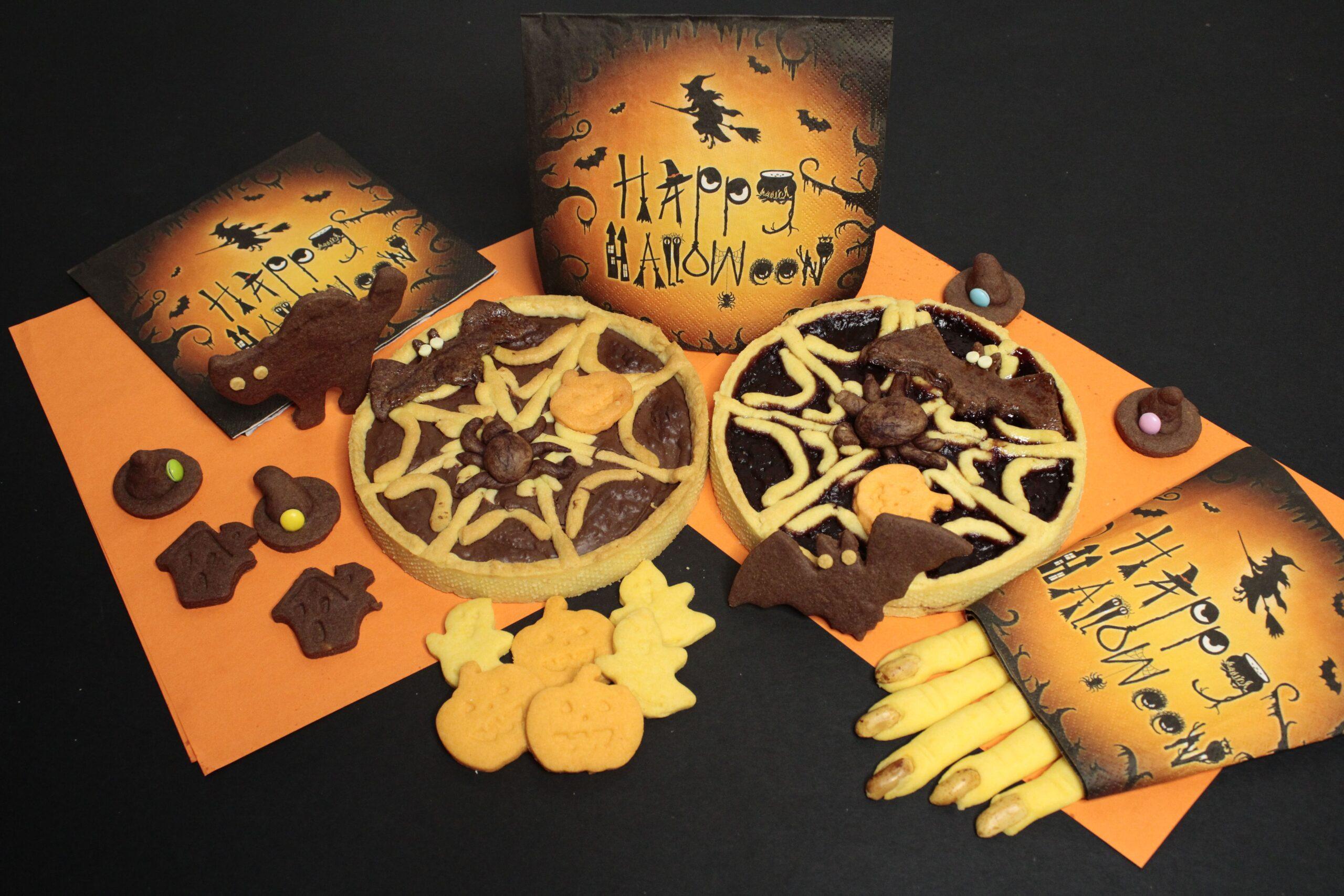 Biscotti e crostate Halloween