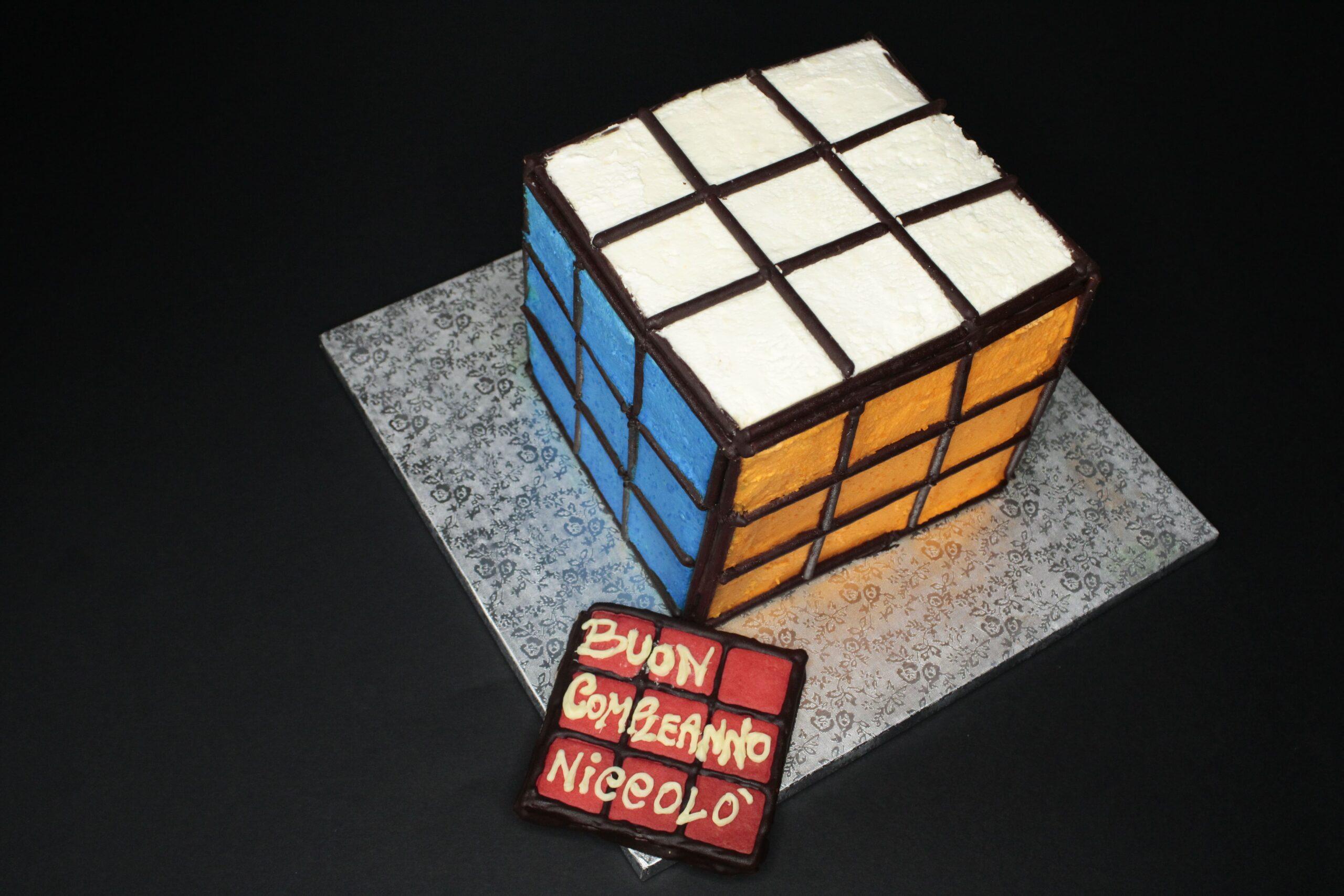 Torta cubo Rubik