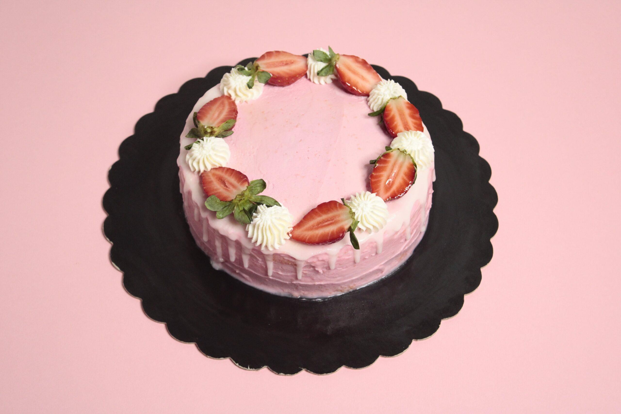 Dip cake fragole